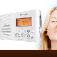 Sangean-H201 - Duschradio - 2 Watt