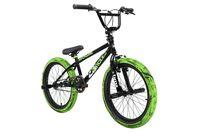 BMX Freestyle 20'' 23 Circles schwarz-grün KS Cycling 670B