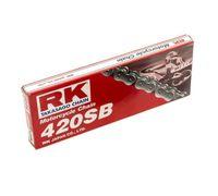RK Kette SB 420 Teilung 132 Glieder stahlfarben mit Clipschloss