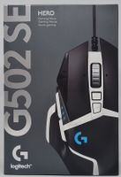 Logitech G502 HERO Gaming Maus Special Edition, 25.600 DPI, 910-005729, Schwarz/Weiß
