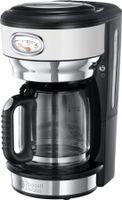 Russell Hobbs Retro Classic Blanc Glas Kaffeemaschine
