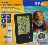 TFA Dostmann Funk-Poolthermo-Hygrometer Malibu 30.3053 Thermometer
