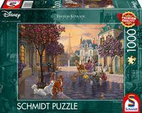 Schmidt Spiele 59690 Puzzle 1000T Disney, The Aristocats