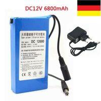 12V 6800mAh Leistungsstarker wiederaufladbarer Li-Ionen-Akku für drahtlose CCTV