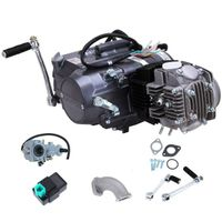 125CC 1P52FMI Engine Motor 4-Takt 4Gang Einzylinder Dirt Bike Pocketbike Cross Für Honda CRF50 XR70