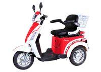 ECO ENGEL 500 Rot Weiß 1000 Watt, 25 km/h Senioren Roller Seniorenmobil Elektromobil