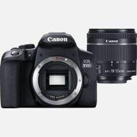 Canon EOS 850D, 24,1 MP, 6000 x 4000 Pixel, CMOS, 4K Ultra HD, Touchscreen, Schwarz