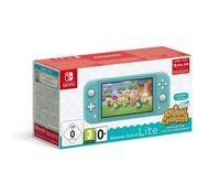 Nintendo Switch Lite türkis mit  Animal Crossing: New Horizons