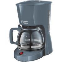 RUSSELL HOBBS Kaffeemaschine Filterkaffeemaschine Grau Textures Coffe Maker 975W
