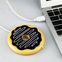 USB Tassenwärmer Untersetzer Runde Cookie Kaffee / Tee Tasse Heizkissen Für Büro