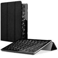 kwmobile Hülle kompatibel mit Huawei MediaPad T3 10 - Smart Cover Tablet Case Schutzhülle - Stand - in Schwarz