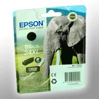 Epson EPSON® Tintenpatrone T24314012 / 24XL, schwarz/C13T24314012 10 ml