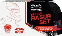 Wilkinson Sword Hydro 5 Rasurset Star Wars, Rasierer, Rasiergel, Kulturtasche