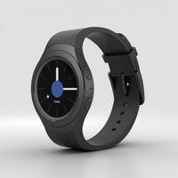 Samsung Gear S2 Smartwatch R720 Dark Gray Neu &