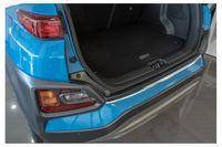 Edelstahl Ladekantenschutz für Hyundai Kona Abkantung  11/2017-, Farbe:Silber
