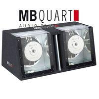 MB QUART PHG 304 D Doppel-Bandpass-Subwoofer 2 x 30 cm 2000 Watt max