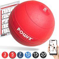 Slamball I Medizinball 3 - 20 kg I Slam Ball versch. Farben Gewicht: 5 kg
