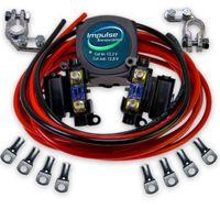 SET BSR Trennrelais 12V/140A inkl. 6m 10mm² Vollkupfer Kabelanschlusskit