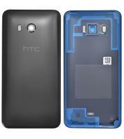 Original HTC U11 74H03337-13M Akkudeckel Backcover Schwarz Black Battery Cover