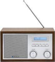 Blaupunkt RXD 180 DAB+ Digital Radio, Küchenradio mit Bluetooth, Aux In, UKW/FM PLL Radio mit RDS, Alu-Optik, Drehregler