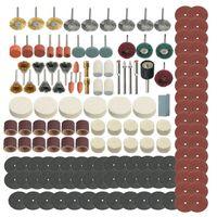 347 Stuecke Schleifen Schleifen Polieren Drehwerkzeug Rad Zubehoer Kit Set