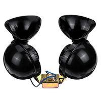 24V Auto Horn Dual 350dB Hupe Elektrisch Bull Super Loud Wasserdicht Schwarz