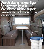 Steinborg Mini Waschmaschine 1,5 KG Faltbare Waschmaschine 135 W