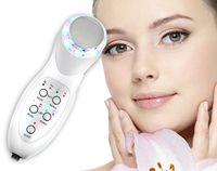 2in1 LED-LICHT-Therapie und Ultraschalgerät für Gesicht und Körper