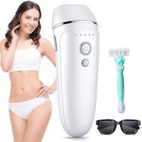 Hikeren Haarentfernung Haarentfernungsgerät Laser Dauerhafte Haarentfernung Geräte Haarentfernung für Körper Gesicht Bikini-Zone & Achseln