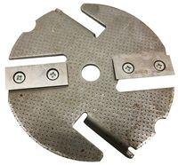 ATIKA Ersatzteil | Messerscheibe mit Messer für Gartenhäcksler BioLine / BioTec 1600 / BioTec 2200