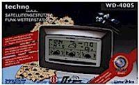 Technoline WD 4005 Wetterstation braun-metallic-silber