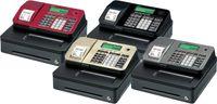 Casio SE-S100SB Registrierkasse mit kleiner Geldlade, Thermodruck Kundenanzeige, silber