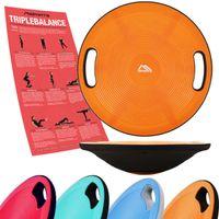Balance Board 40 cm Durchmesser - Wackelbrett, Farbe:Orange