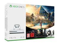 Microsoft Xbox One S 1TB Assassin's Creed Origins Tom Clancy's Rainbow Six Siege