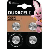 Duracell CR-2032 4erPack Lithium-Knopfzelle 3V