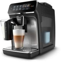 Philips Kaffeevollautomat für 5 Kaffeespezialitäten, Espressomaschine, 1,8 l, Kaffeebohnen, Eingebautes Mahlwerk, Schwarz, Silber