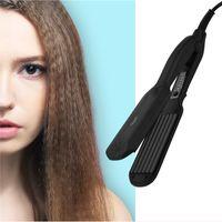 CkeyiN hair crimper Professional mit 5 Temperatureinstellungen Keramisches Flacheisen Schnelle Hitze für den Heimgebrauch
