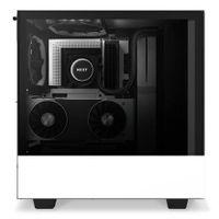 NZXT H510 Elite - Midi ATX Tower - PC - SGCC - Stahl - Gehärtetes Glas - Weiß - ATX,Micro ATX,Mini-ATX - Multi
