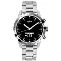Viita - SmartWatch - Unisex - Viita Hybrid HRV Tachymeter silver-silver Steel