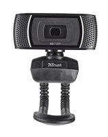 TRUST Trino HD Video Webcam, Farbe:Schwarz