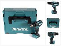 Makita DHP 485 ZJ 18 V Li-Ion Akku Schlagbohrschrauber Solo im Makpac - ohne Akku, ohne Ladegerät