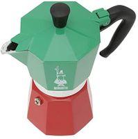 BIALETTI ALUMINIUM ESPRESSOKOCHER für 6 Tassen Espresso Maker Espressokanne MOKA