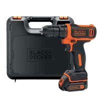 Black & Decker BDCDD12K Akku-Bohrschrauber,10,8V Li-Ion