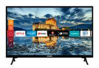 Telefunken XF32J511 32 Zoll Fernseher (Smart TV inkl. Prime Video / Netflix / YouTube, Full HD, Works with Alexa, Triple-Tuner)