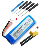 NORDMANN® Ersatz Akku Batterie für JBL Flip 3 Box III Lautsprecher GSP872693 3000mAh Accu + Mega Werkzeug Set