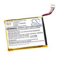 vhbw Akku passend für vtech 80-169500, KidiBuzz Tablet Pad (2500mAh, 3,8V, Li-Polymer)
