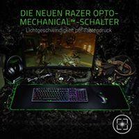 Razer Huntsman Opto-Mechanische Gaming Tastatur, Chroma Beleuchtung, QWERTZ DE-Layout
