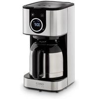 CASO Selection C10 Thermo Kaffeemaschine mit 1,2 L Thermoskanne, Timer, aus Edelstahl mit Permanentfilter für 10 Tassen