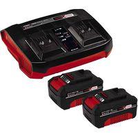 Einhell Power X-Change Starter Kit 2x 4,0Ah & Twincharger Kit