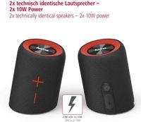 Hama Soundcup-D schwarz Mobiler Bluetooth-Lautsprecher